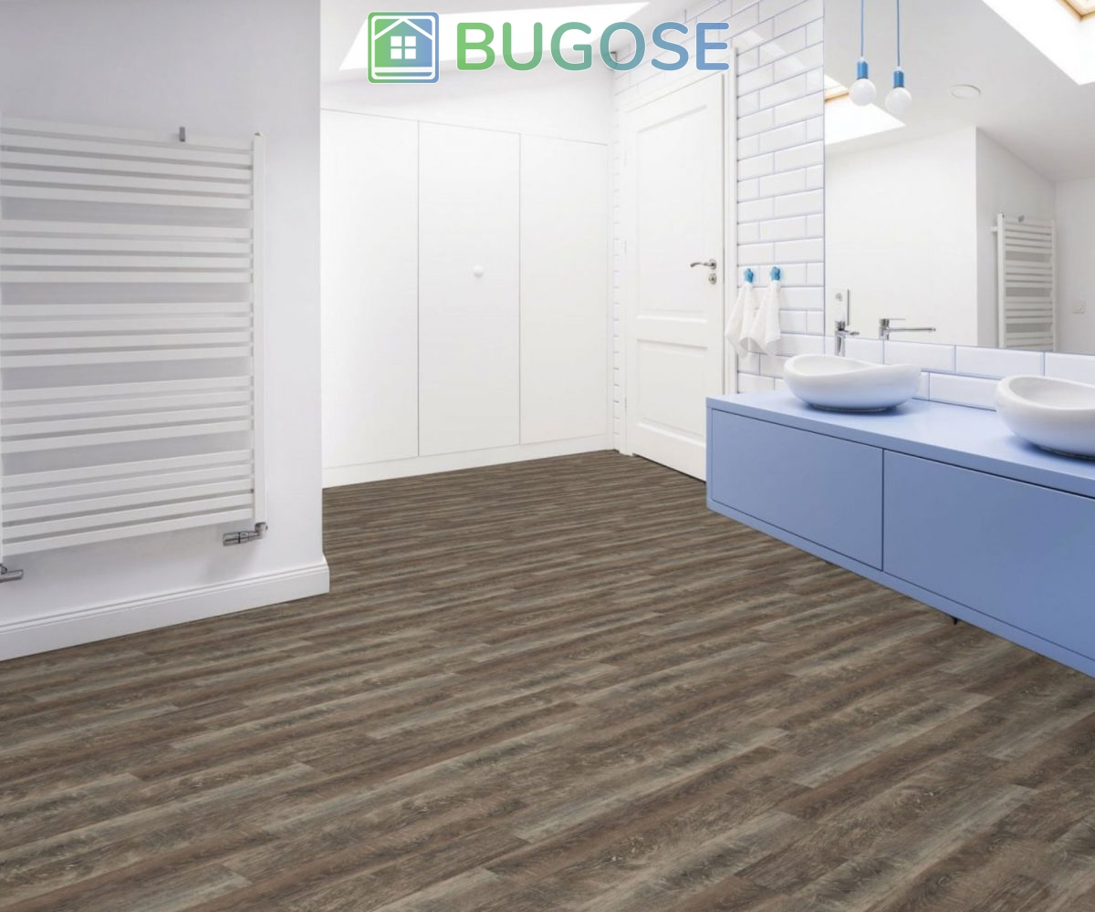 Beaulieu 2093 Forli Vinyl Plank Flooring Rapido Collection Bathroom 2