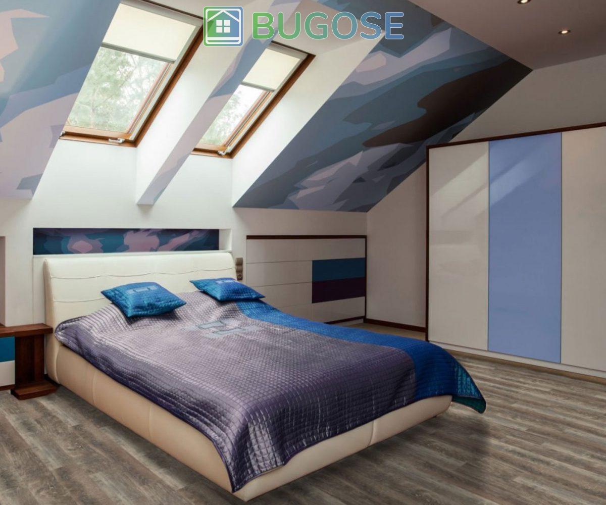 Beaulieu 2093 Forli Vinyl Plank Flooring Rapido Collection Bedroom 1