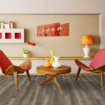 Beaulieu 2093 Forli Vinyl Plank Flooring Rapido Collection Chairs