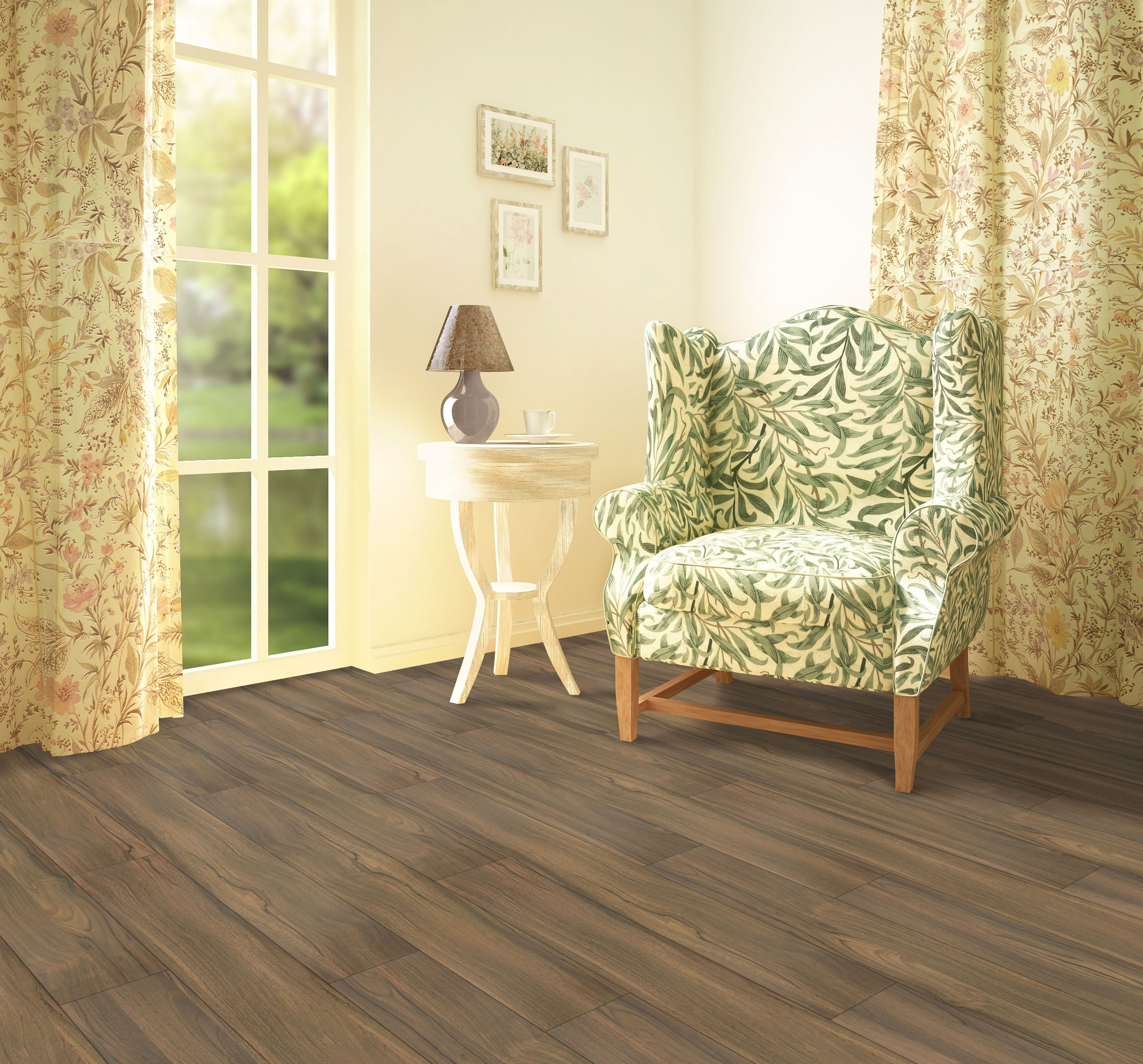 Laminate Flooring RS Beaulieu Elegance Collection RS 9506 OsloWalnut