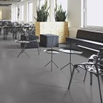 Sheet Vinyl Commercial Flooring Forbo Sphera Element Collection Anthracite 50006 Education University Scene 5
