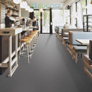 Sheet Vinyl Commercial Flooring Forbo Sphera Element Collection Anthracite 50006 Hospitality Scene 5