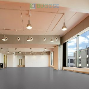 Sheet Vinyl Commercial Flooring Forbo Sphera Element Collection Anthracite 50006 Hospitality Scene 9